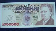 banknoty europa 1.000.000zł Wł.Reymont-1993r,UNC,seria;M