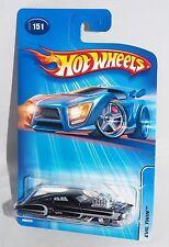 Hot Wheels 2005 Mainline #151 Evil Twin Wal-Mart Black w/ WSPs