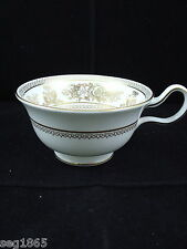 WEDGWOOD GOLD COLUMBIA PEONY SHAPE TEA CUP
