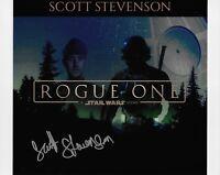 Photo - Scott Stevenson in person signed autograph - Star Wars