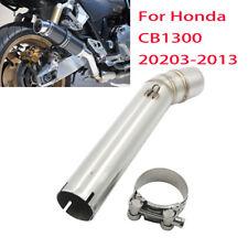 Exhaust Slip On Mid Link Muffler Pipe For Honda CB 1300 CB1300 2003 - 2013 2010