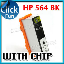 2x Ink Cartridge for Hp 564XL Black B109 B8550 C309 B210 C310 C410 C510 Printer
