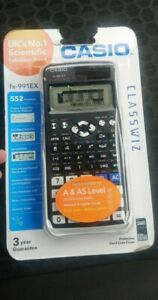 Casio FX-991EX Classwiz Scientific Calculator - Black ** BRAND NEW / SEALED **