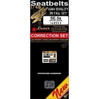 HGW 1/48 SE.5a Seatbelts for Eduard or Roden kits - 148553 - Laser cut