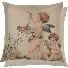 Clayre & Eef funda de almohada cojín ángel campestre nostalgia Shabby 45x45cm
