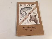 1959 Parker's Deluxe Catalog 8th Edition Fishing & Hunting