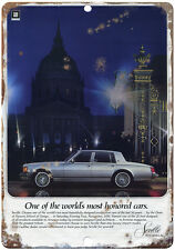 "Cadillac Seville Gray 10"" x 7"" Reproduction Metal Sign"