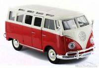 Maisto Special Edition Volkswagen Van Samba Red Toy Model Die-cast 1:25 Scale