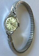 Vintage Medco Swiss 10K RGP Shock protected Diamond watch