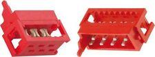 2 Stück IDC Socket Connector Micro Match männlichen 8 polig  für Flachbandkabel