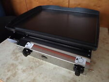 Commercial Catering Van,LPG Gas Griddle Hot Plate 51x40cm Gasgrill