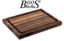 BOOS Blocks BLACK WALNUT la tabla de cortar AUS nogal 51x38x4cm 5kg #r03-grv