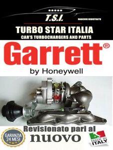 TURBINA TURBOCOMPRESSORE GARRETT 712290 724808 PER SMART 600 REVISIONATO