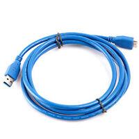 1.5M / 5FT USB 3.0 A Maschio a mini B Cavo 5Gbps - blu K4Z6