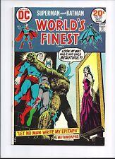 1973 DC Comics Worlds Finest #220 VF Superman Batman Metamorpho app