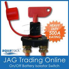 12V~24V BATTERY ISOLATOR KILL SWITCH with KEY & CAP -Marine/Boat/Car/4x4/Caravan