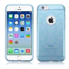 Fundas y carcasas Para iPhone 6s color principal azul de silicona/goma para teléfonos móviles y PDAs
