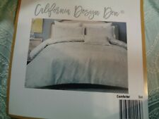 California Design Den Hotel Luxe Down Alternative Full/Queen Comforter Set NEW!!