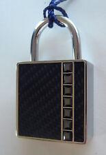 SWAROVSKI  KEY RING JETHEM/STS Silver Plate with Crystals Key Chain Gift