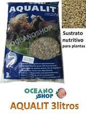 SUSTRATO AQUALIT HOBBY 3L natural NUTRITIVO abono para PLANTAS de ACUARIO pecera