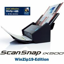 Fujitsu ScanSnap iX500 Dokumentenscanner *inkl. WinZip 21 PRO*
