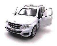 Mercedes Benz Modellauto mit Wunschkennzeichen GLK SUV Weiss Maßstab 1:34-39