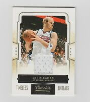 Chris Kaman Clippers 2009-2010 Classics Jersey #87  101/199