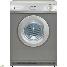 Brand New White Knight C42AS Silver Vented Dryer 6KG With Free Extendable Hose