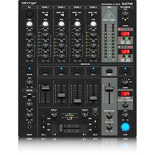 Behringer DJX-750 5-Channel DJ Mixer w/ Advanced Digital Effects BPM Counter