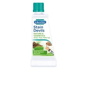 DR Beckmann Stain Devils Remover Cleaner Grass Mud Makeup Pigment Washing 50ml