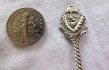 Antique Sterling Silver 1492 CHRISTOPHER COLUMBUS Spoon /Cuchara Cristobal Colon