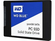 WD Blue 500GB Internal SSD Solid State Drive SATA 6Gb/s 2.5 Inch  WDBNCE5000PNC