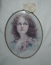 Victorian Flue Cover Vintage Replica Gallery Graphics lady woman