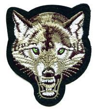 Wolf écusson patch Back BIKER Indien timberwolf