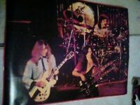 **Rush Neil Peart Super Rare Poster** Geddy Lee Doubleneck!!**THIS ONE IS RARE!!