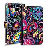 Motiv Tasche Samsung Galaxy A7 Flip Case Schutz Hülle Handy Etui Wallet Cover