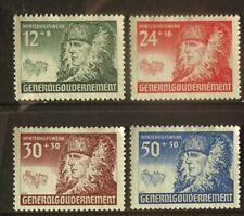 Poland, German occupation 1940, War Relief, full set mint