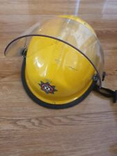 More details for bullard fire and rescue helmet with face shield