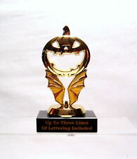 HALLOWEEN TROPHY PUMPKIN  AWARD  MB FREE LETTERING