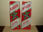 "Vintage Union Wadding ICICLES 18"" TINSEL 1000 Strands X-Mas Decor 2 Packs Nos"