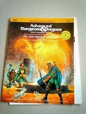 Advanced Dungeons & Dragons THE LOST ISLAND OF CASTANAMIR Competition Adventure