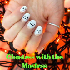 Color Street GHOSTESS WITH THE MOSTEST (Ghost White Cute Faces Halloween)