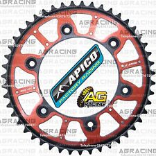 Apico Xtreme Red Black Rear Alloy Steel Sprocket 47T For Honda CR 125 1994 MotoX