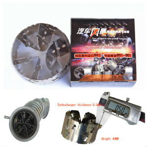 Car Intake Air Turbocharged Fuel Saver Improve Burn Rate Decrease Air Pollution