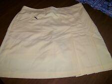 Izod Golf Class, Size 4 Yellow, Skirt/Shorts, Polyester Golf Skort, NWOT'S 36543