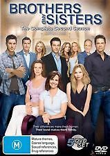 BROTHERS AND SISTERS SECOND SEASON 2 - BRAND NEW & SEALED R4 DVD (5-DISC SET)