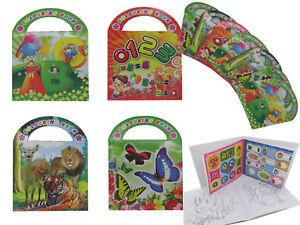 24x Malbuch 16 Seiten + Sticker Mitgebsel Kindergeburtstag Giveaway Mitbringsel