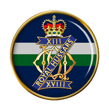 13th/18th Royal Hussars (Queen Mary's Own), British Army Pin Badge