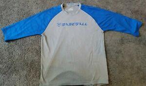Under Armour Baseball 9 Strong Loose 3/4 Sleeve Athletic Shirt  size Medium