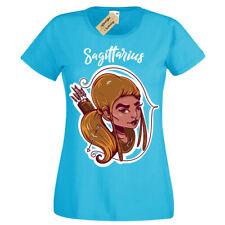 Sagittarius T-Shirt star sign horoscope Womens Ladies